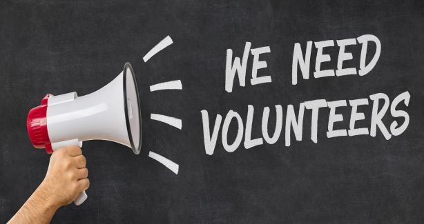 We Need Volunteers Image
