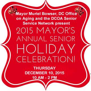 2015 Mayor's Annual Senior Holiday Celebration