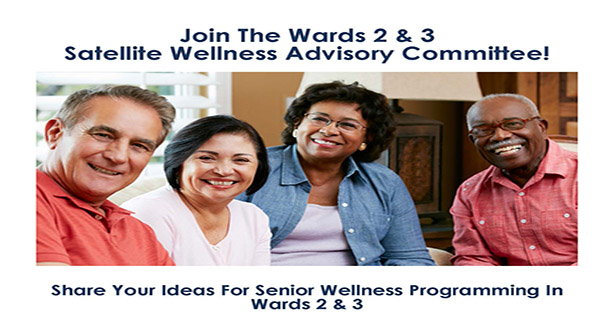 Image or Seniors ready to talk about wellness