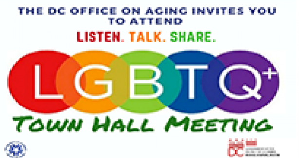 LGBTQ+ Town Hall Meeting