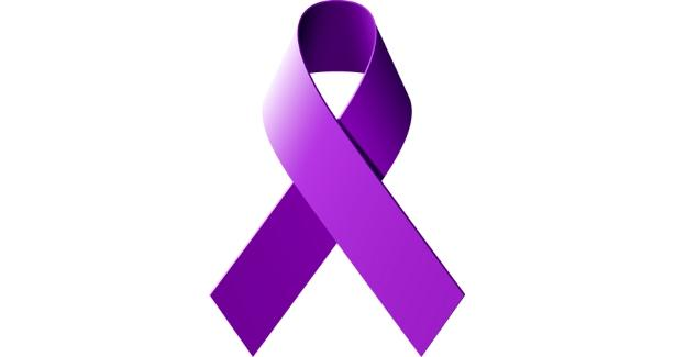 image of purple ribbon