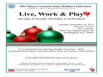 Mayor's Annual Senior Holiday Celebration